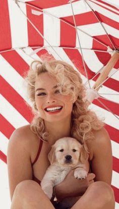 The Pampered Pooch Margot Robbie Style, Margo Robbie, Summer Days, Summer Vibes, Divas, Seasonal Image, Under My Umbrella, Bikini, Tropical