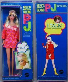 1969 Talking P.J. PJ New N Groovy 1113 Barbie  MIB