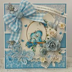 Sylvia Zet: Splash of inspiration Wedding Cards Handmade, Beautiful Handmade Cards, Greeting Cards Handmade, Scrapbooking, Scrapbook Cards, Pretty Cards, Cute Cards, Shabby Chic Cards, Whimsy Stamps