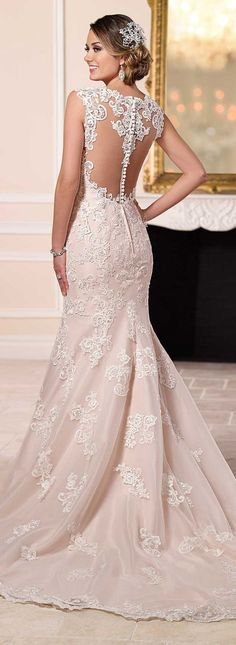 99+ Pink and White Wedding Dresses - Wedding Dresses for Guests Check more at http://svesty.com/pink-and-white-wedding-dresses/ #whiteweddingdresses #weddingdress