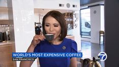 Solid bold colors and a face-framing hairstyle look great on Dion Lim in San Francisco, in the studio or in the field. Hairstyle Look, Great Hairstyles, Expensive Coffee, News Anchor, Face Framing, New Media, Bold Colors, Looks Great, Coaching
