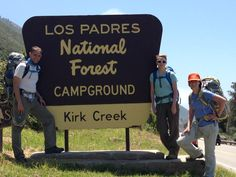 Big Sur, California - Vicente Flat Trail to Vicente Flat Camp