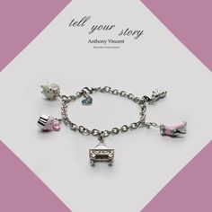 What´s your story?  #AV #TellYourStory #bracelet #charms