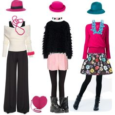 """Hat"" by kommunikacio-stilus on Polyvore"
