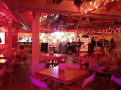 Inside Cheri's Cafe...