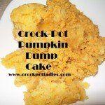 Crock-Pot Ladies Crock-Pot Pumpkin Cheesecake