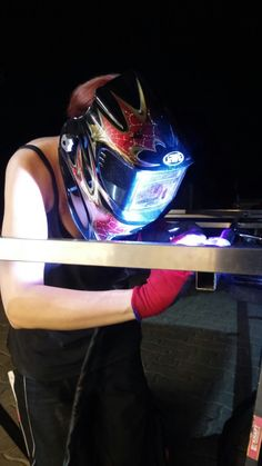 Woman at welding-me ;-)