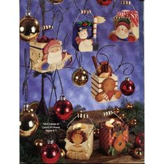 ... 30+ Christmas Tole Painting Patterns Boxes Bookends Napkin Rings etc