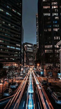 Wallpaper of long exposure Night Photography View of Vehicle Headlamps Light Trails background. Urban Photography, Night Photography, Landscape Photography, Nature Photography, Travel Photography, Cityscape Photography, Night Long Exposure Photography, City Lights Photography, Photography Wallpapers
