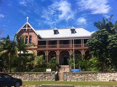 Originally a Sisters of Mercy Convent .... now the James Cook Museum, Cooktown, Queensland, Aus...