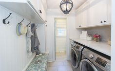 After: Laundry and Mudroom