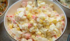 Η λεπτή γεύση της καβουρόψιχας σε μια υπέροχη δροσερή σαλάτα που γίνεται πολύ εύκολα και γρήγορα.