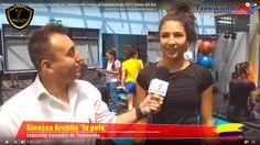 Ginessa Archila, Selección Colombia de Taekwondo rumbo al mundial Muju 2017, Corea del Sur