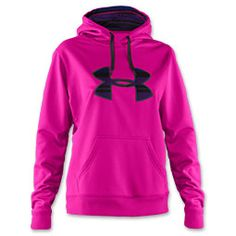 pink/purple under armour hoodie