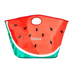 Buy Sunnylife Carryall Beach Bag - Watermelon online and save! SANDY SATCHEL Forget the world, carry style on your shoulder and in your hand. Pack your essentials (plus a little bit more) and hit the beach with t. Best Beach Bag, Beach Bags, Watermelon Patch, Howard Storage, Insulated Bags, Watermelon Designs, Sunnylife, Picnic Time, Carry All Bag