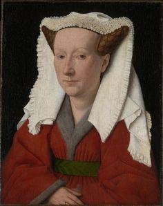 Portrait of Margaret van Eyck (the artist's wife), 1439 - Jan Van Eyck (Flemish, 1395-1441)