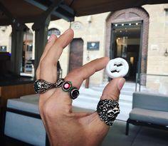 День музеев начали с GUCCI MUSEO на Piazza della Signoria //отличное место не только для знакомства с историей бренда, но и для завтрака/ланча/кофе//