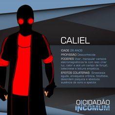 Caliel, o super-herói que São Paule merece.  www.ocidadaoincomum.com.br