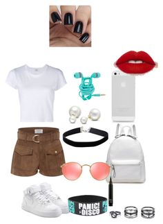 """""""DNA #1"""" by ihascupquake270 on Polyvore featuring Frame Denim, RE/DONE, NIKE, Ray-Ban, Miss Selfridge, Allurez and Lulu*s"""
