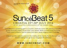 Suncebeat 5 Festival, Croatia