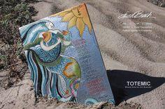 "Laurel Burch ""Ocean Songs"" wall decor from Studio Totemic™."