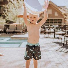Cooper Jr. Swim Trunks