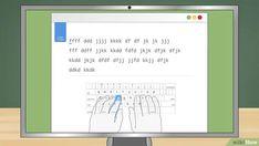 Das 10 Finger System lernen: 15 Schritte (mit Bildern) – wikiHow 10 Finger System Lernen, Alphabet, Der Computer, Tricks, Organization, Knowledge, Kids Learning, Carpal Tunnel Syndrome, Writing Process