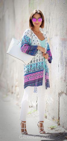 #Choies #Kimono #KateSpade #ShopperBag #GentleMonster #MirroredSunglasses #StreetStyle #ootd #boho #BohoChic #outfitIdeas #fashionbloggerRU #кимоно #бохо #стиль #мода