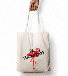 Cotton Tote Bags, Reusable Tote Bags, Flamingo, Presents, Etsy Shop, Trending Outfits, Unique Jewelry, Handmade Gifts, Check