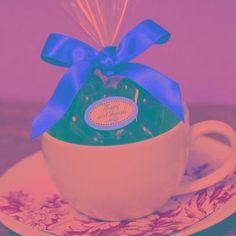 DIY Espresso Cup Baby Shower Favor