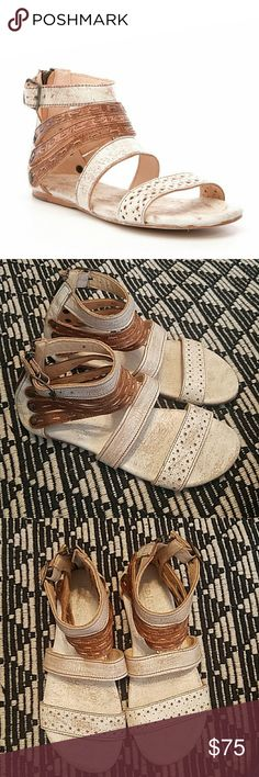 5d7915d688f4 Bed Stu 8 Artemis Nectar Tan Lux Leather Sandals Bed Stu Artemis sandals in  Nectar Tan