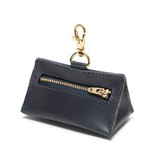 Leather Prism Pouch Navy - LoveThyBeast - LoveThyBeast