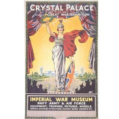 Crystal Palace exhibition poster Glass Building, Crystal Palace, Exhibition Poster, First World, Museum, Framed Prints, War, Crystals, Canvas