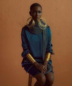 Clam Magazine 28 Muse: Mahany Pery Photography: Adriano Damas gold fashion… - Diy Home Crafts Black Girl Magic, Black Girls, Look Fashion, New Fashion, Fashion Ideas, Trendy Fashion, Black Women Fashion, Vogue Fashion, Holiday Fashion