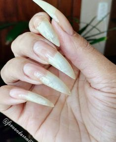 Garra, Long Fingernails, Long Nails, Summer Acrylic Nails, Acrylic Nail Art, Sexy Nails, Trendy Nails, Young And Beautiful, Beautiful Hands