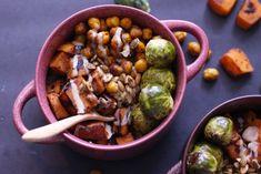 Wonderful Winter Veggie Bowls (Vegan, GF) - Zen and Zaatar