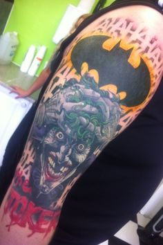 CosGeek: Tattoo: The Killing Joke