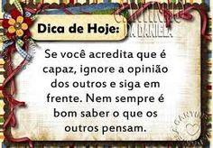DICA DE HOJE