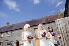 A 1970's Vintage Dress and a Floral Crown for a Book Inspired Farm Wedding | Love My Dress® UK Wedding Blog