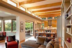 Минималистский проект дома в современном деревенском стиле