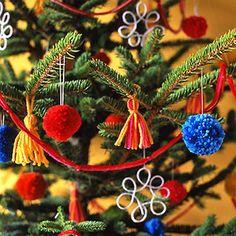 Adornos para decorar el árbol de navidad. - Manualidades para Navidad - Manualidades para niños - Charhadas.com
