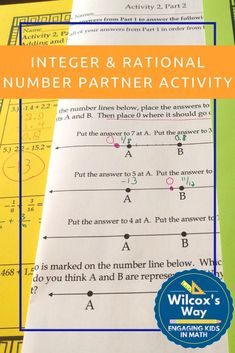 Integer and Rational Numbers Operations Partner Activity Standards For Mathematical Practice, Common Core Standards, Rational Numbers, Negative Numbers, 7th Grade Math, Integers, Cooperative Learning, Math Practices, Multiplication