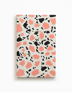 Gold Foil Any-Year Daily Planner - Terrazzo Rose