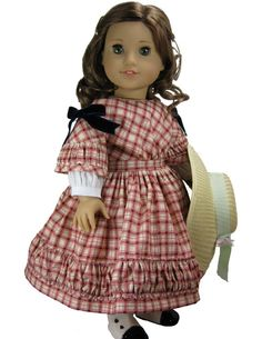93 Best American Girl Doll - Patterns 1850 - 1860 images in 2015