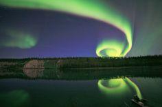 Spiraling Aurora