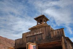 Fire Hall in the Ghost Town of Calico, California