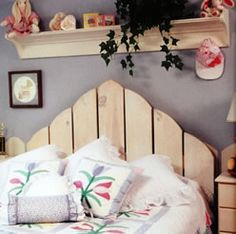 projects for fence boards | ... Picket Fence Headboard - Matt and Shari - do it yourself projects