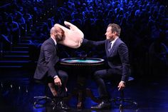 After this Tonight Show appearance, Jason Statham may need to see a chiropractor before taking on his next role.