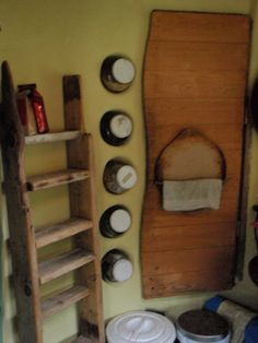 cob house kitchen storage