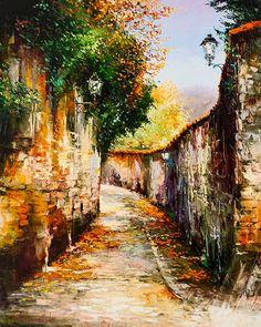 A Hint of Autumn by Gleb Goloubetski